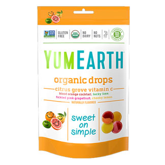 Yum Earth Organic Vitamin C Drops MAIN