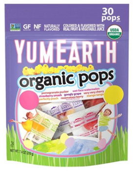 YumEarth Organic Easter Lollipops