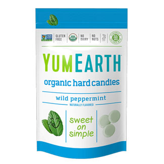 Yum Earth Organic Wild Peppermint Drops MAIN