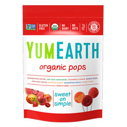 Yum Earth Organic Lollipops THUMBNAIL