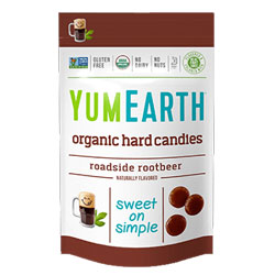 Yum Earth Organic Roadside Root Beer Candy Drops THUMBNAIL