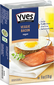 "Yves Meatless Veggie ""Canadian""  Bacon"