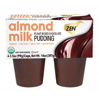Zen Organic Almond Milk Chocolate Pudding MAIN