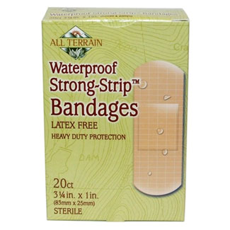 Latex-Free Waterproof Bandages by All Terrain MAIN
