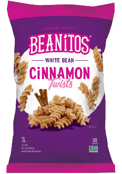 White Bean Cinnamon Twists by Beanitos