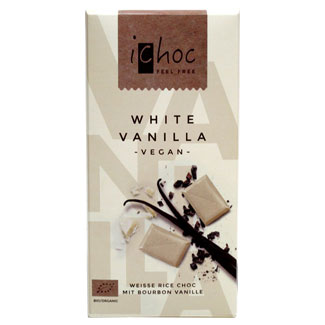 iChoc White Chocolate Bar MAIN