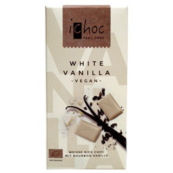 iChoc White Chocolate Bar THUMBNAIL