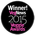 Winner VegNews Veggie Awards - 2005-2015