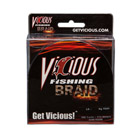 50lb Vicious Hi-Vis Yellow Braid - 300 Yards THUMBNAIL