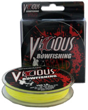 200lb Hi-Vis Bowfishing Braid - 75 Feet MAIN