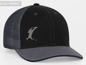 Back-in-Black Fitted Hat MAIN