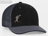 Back-in-Black Fitted Hat THUMBNAIL