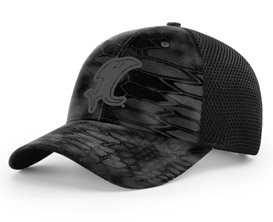 Vic Black Kryptek Fitted Hat MAIN