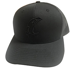 Vic Outline Adjustable Black Hat MAIN