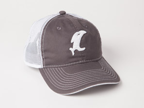 Classic Charcoal/White Adjustable Hat MAIN