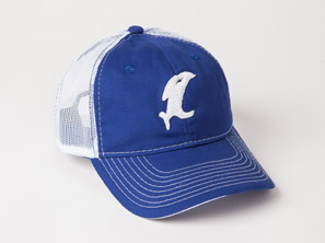 Classic Blue/White Adjustable Hat MAIN