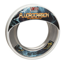 "15lb Vicious Fluorocarbon Leader - 110 Yards, .0015"" Avg. Dia. MAIN"