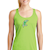 Green Vic Racer Back Tank SWATCH