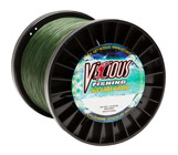 100lb Vicious Moss Green No-Fade Braid - 3000 Yards THUMBNAIL