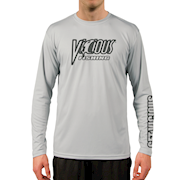 Vicious Gray LS Performance Tee THUMBNAIL