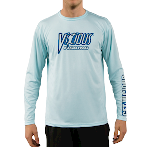 Vicious Blue LS Performance Tee MAIN