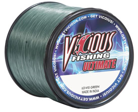 "30lb Vicious Lo-Vis Green Ultimate - 400 Yards, .019"" Avg. Dia. MAIN"