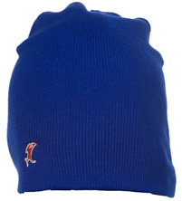 Blue Vic Knit Cap MAIN