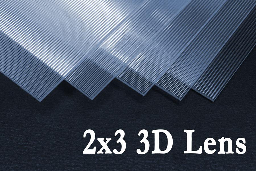 3D & Flip Lenticular Lens / 3D Lenticular Lens Blanks – VueThru ...