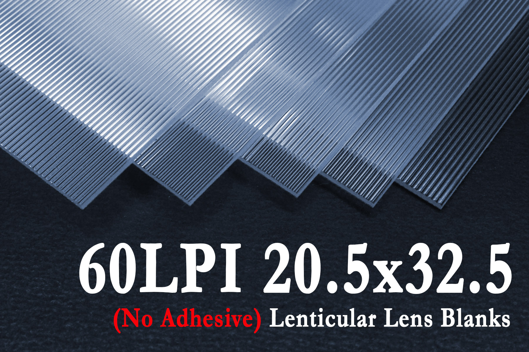 60 LPI Lenticular Sheets without Adhesive