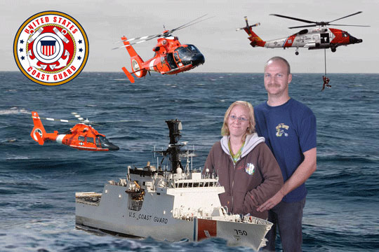 Coast Guard 3D Background and Foreground