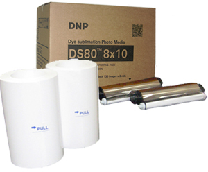 DNP DS80 8x10 Paper Kit (260 Photos)