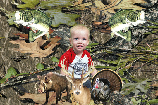 Hunting1 3D Background and Foreground THUMBNAIL