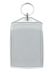 Bulk - 2x3 Clear Lenticular 3D & Flip Key Chains