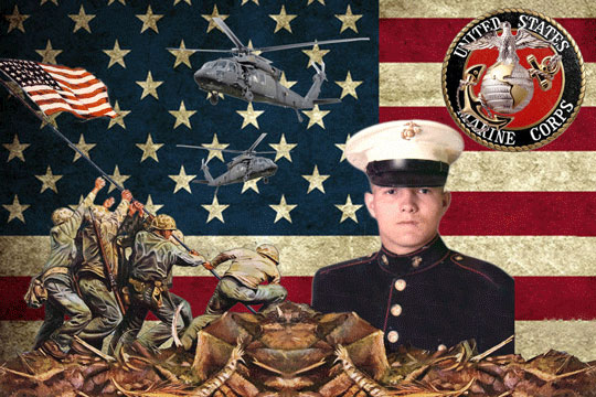Marines1 3D Background and Foreground THUMBNAIL