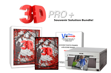 3D PROPlus Printer Bundle (Includes Software, Graphics, and DNP Printer)