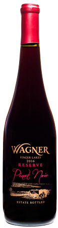 Bottle of Reserve Pinot Noir LARGE