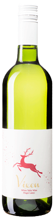 Vixen wine is a holiday labeling of Alta B White. A sweeter white wine with a holiday label LARGE