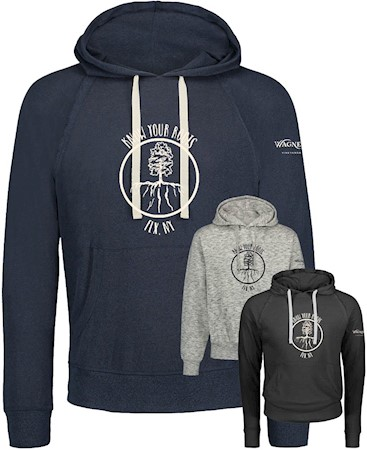 Know Your Roots Hoodies (Navy w/ small grey options) MAIN