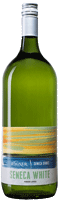 Magnum size bottle of Seneca White wine with our Seneca Series label inspired by the sunsets on Seneca Lake_THUMBNAIL
