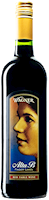 A bottle of Alta B Red. A sweeter red wine with a label featuring the winery founder's mother, Alta B. THUMBNAIL