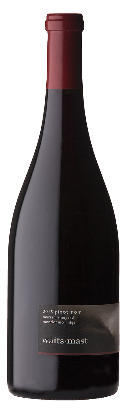 2015 Waits-Mast Pinot Noir, Mariah Vineyard, Mendocino Ridge MAIN