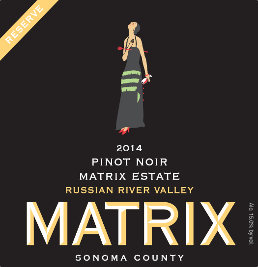 2014 Matrix Pinot Noir, Estate Reserve