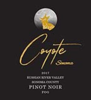 2017 Coyote Sonoma Pinot Noir, Fog, Russian River Valley MAIN