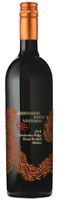 2014 Greenwood Ridge Merlot, Mendocino Ridge