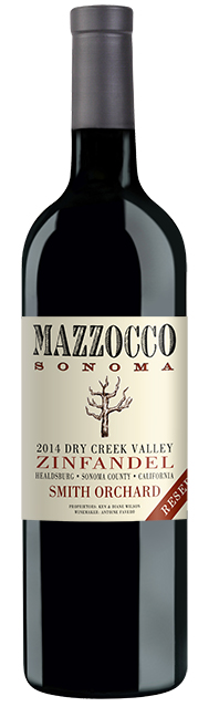 2014 Mazzocco Zinfandel, Smith Orchard Reserve, Dry Creek Valley