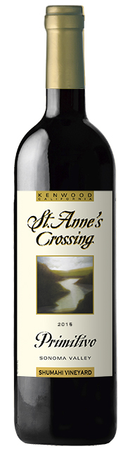 2015 St, Anne's Crossing Ami Cheri Zinfandel, Sonoma Valley