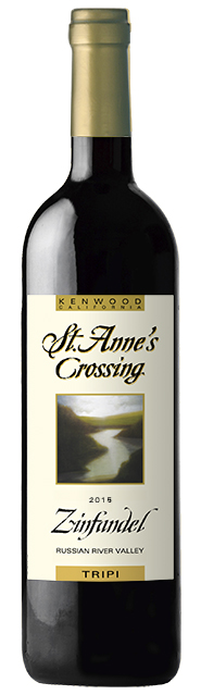 2015 St. Anne's Crossing Bar None Zinfandel, Sonoma Valley