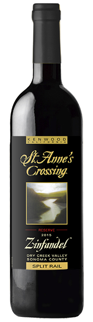2015 St. Anne's Crossing Tripi Zinfandel, Russian River Valley