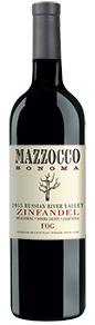 2015 Mazzocco Zinfandel, Fog, Russian River Valley