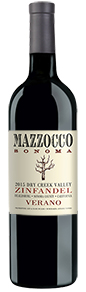 2015 Mazzocco Zinfandel, Verano, Dry Creek Valley